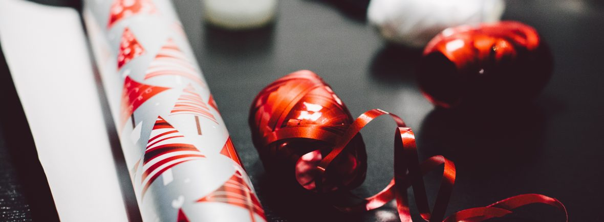 Pre-holiday checklist wrapping gifts